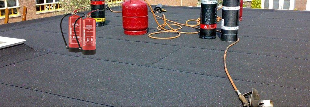 Brandbeveiliging bij dak werkzaamheden